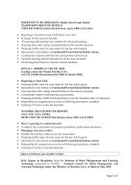 Cook Chef Resume PDF Free Download