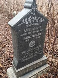 Annie Holt (Unknown-1894) - Find A Grave Memorial