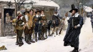 when machusetts banned christmas