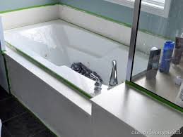 how to paint cultured marble tub surround cleverlyinspired 12