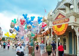 those looking to purchase a souvenir in the magic kingdom have the most selection to choose from in the emporium