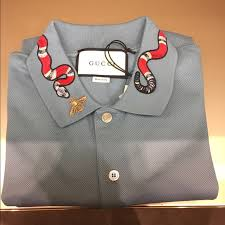 gucci polo. gucci snake polo (all sizes available)