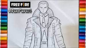 Fire isolated over black background. Free Fire Character Drawing Easy Guide Here Re Some Inspiring Samples