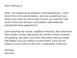 Asking For A Recommendation Letter From A Professor Asking For Letters Of Recommendation Career Skillet
