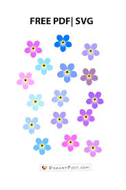 Small Paper Flower Templates Flower Templates Free Pdf Svg Png Files Super Easy Tutorial