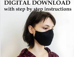 face mask sewing pattern free pdf