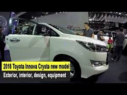 2018 toyota innova interior. interesting innova 2018 toyota innova crysta new model exterior interior design equipment to toyota innova interior
