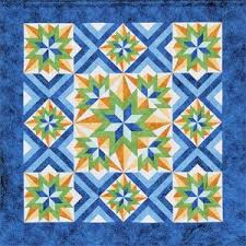 Queen Size Quilt Patterns Beauteous Eve'nsong Queen Size Quilt Pattern By Lockwood Enterprises