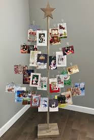 Christmas Card Display Stand The Birch Branch Card Photo Tree Stand Is A Free Standing 100 Foot 4
