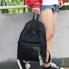 2018 women backpack new best travel backpack student school bag korean hoop for student girl bagpack laptop bag wheeled backpacks leather backpacks from