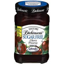 b inson s b sugar free cherry preserves 8 oz