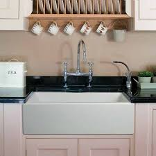 Kitchen Sinks  Fabulous Farmhouse Sink With Faucet Holes Single Kitchen Sink Cost