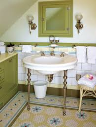 bathroom mosaic tile designs. The Restored Bathroom In An 1894 House Boasts A Complex Mosaic Floor That Resembles Richly Tile Designs