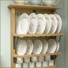 Wooden Plate Racks For Kitchens Beautiful Diy Plate Rack Cabinet 134 Diy Under Cabinet Plate Rack
