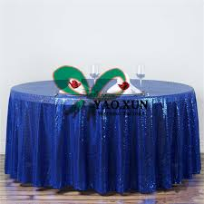 nice looking round sequin table cloth wedding tablecloth free