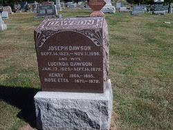 Rose Etta Dawson (1871-1872) - Find A Grave Memorial