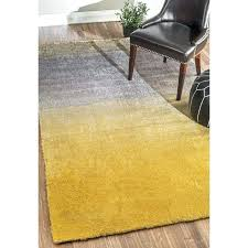 bier hand tufted yellow area rug rugs 5x7