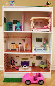 Barbie House using South Shore shelving unit