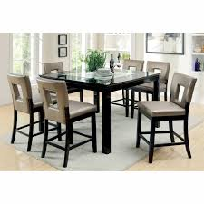 counter height outdoor table unique furniture of america vanderbilte 9 piece gl inlay counter height of