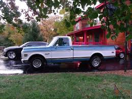 All Chevy c10 72 chevy : Chevy Cheyenne Super C10 unmolested, time capsule 1/2 ton long bed ...