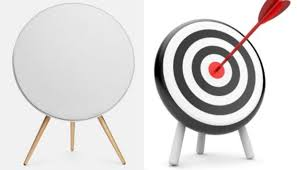 bang and olufsen a9. on the right in picture above is b\u0026o a9, and left an archery target -- or it other way round? bang olufsen a9