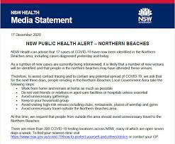 It was a trickle nsw chief health officer dr kerry chant said the main concern is how the man who attended the glebe. Wa Requires New South Wales Visitors To Isolate As It Happened Australia News The Guardian