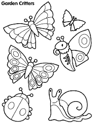 Small Picture Garden Critters Coloring Page crayolacom