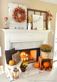 fall decorating ideas fireplace mantel 11 1 kindesign
