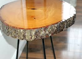 resin wood table wood slice side table 2 our crafty mom resin wood table top diy