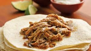 slow cooker green chile pulled pork