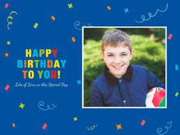 special birthday photo cards online photo card  special birthday