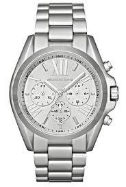 michael kors bradshaw silver men s mk5535 steel watch michael kors quartz silver dial men s watch mk5535