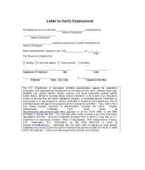 how to write a professional letter 40 proof of employment letters verification forms samples