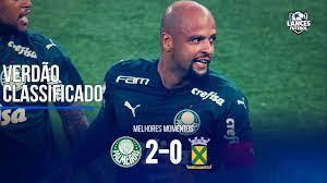 Confira os melhores momentos de Palmeiras 2x0 Santo André