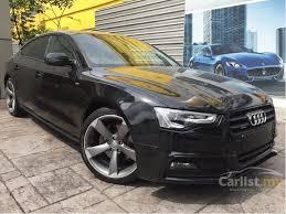 black audi 2015 a5. Modren Black 2015 Audi A5 TFSI Quattro S Line Hatchback And Black Carlistmy