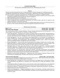 It Manager Resume Examples 2017 Best Of Product Marketing Manager