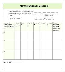 Biweekly Work Schedule Template Spreadsheet Excel Mediaschool Info