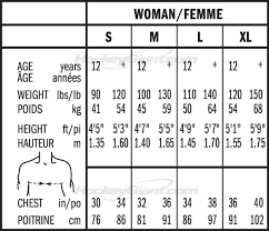 Bauer Goalie Pad Sizing Chart Bauer Supreme 150 Hockey Shoulder Pads Womens Pure
