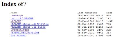 Bash Script to Create index.html of Dir Listing