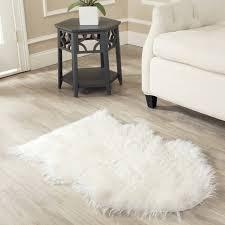 faux sheepskin rug nursery
