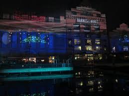 Inner Harbor Light Show Beck In B More New Thing 11 19 11 Inner Harbor Light Show