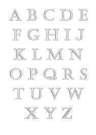 Alphabet A Imprimer Coloriages Alphabet Et Lettres