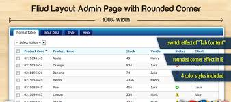 css rounded corners table images decoration ideas