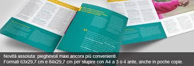 Formati Brochure Centro Stampa Digitalprint Stampa Digitale Hp Indigo Stampa