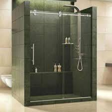 bypass sliding shower doors showers the home depot with frameless sliding shower door decor kohler frameless sliding shower door installation instructions