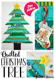 quilted tree wall hanging