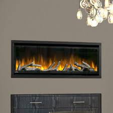 napoleon alluravision deep depth linear electric fireplace 42