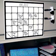 whiteboard for home office. Cohas Chalkboard And Marker Systems Small Monthly Magnetic Backed Whiteboard Calendar With One Black SKU For Home Office