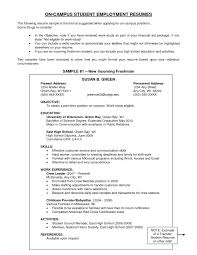 Examples Of Objectives On A Resume Example Objective Career Section