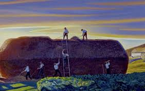 dan ward s stack by rockwell kent picture courtesy of the the state hermitage museum st petersburg
